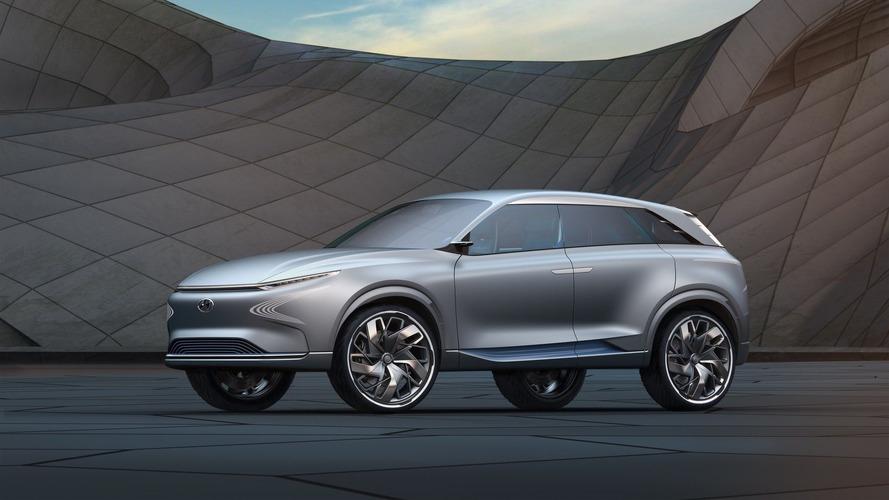 Hyundai'ın yeni hidrojenli SUV modelinin menzili 800 km olabilir