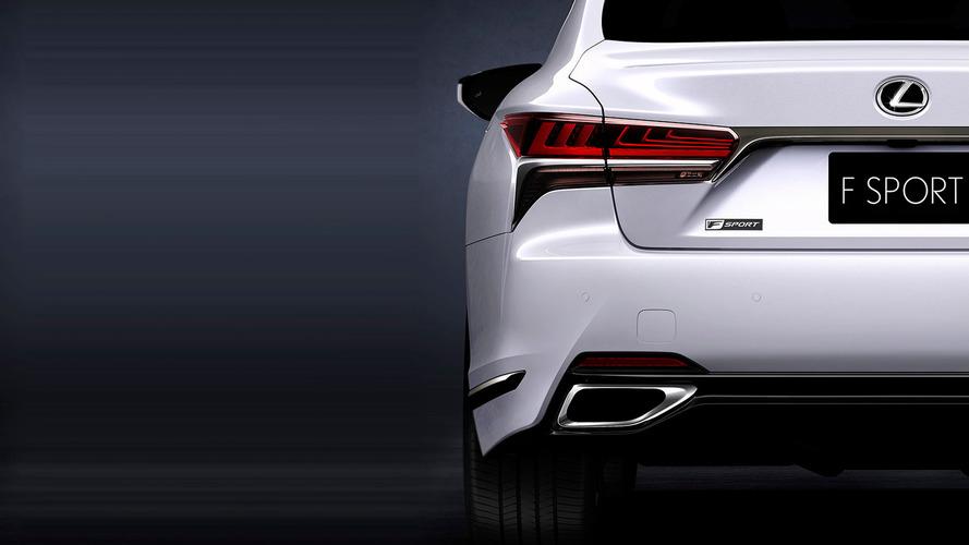 New-York 2017 - La Lexus LS 500 F Sport s'offre un premier teaser