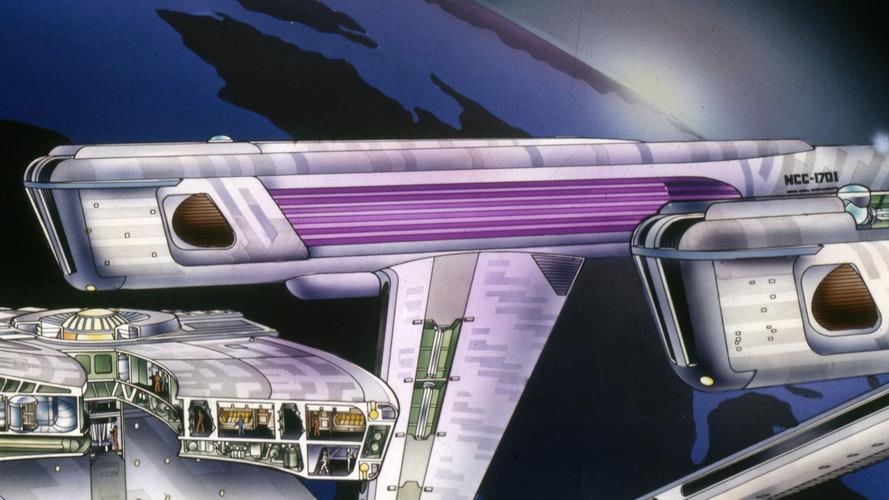 U.S.S. Enterprise warp nacelles