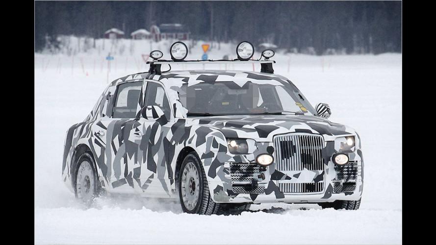 Erwischt: Der russische Rolls-Royce