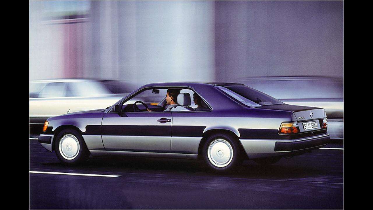 1987-1996: Mercedes W 124 Coupé