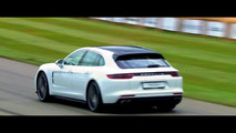 2017 Porsche Panamera Sport Turismo at Goodwood