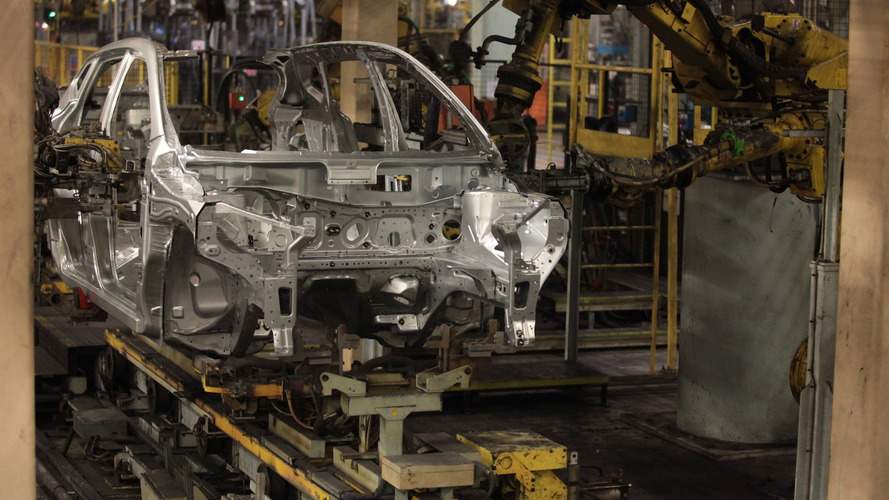 Car production in the UK continues to fall
