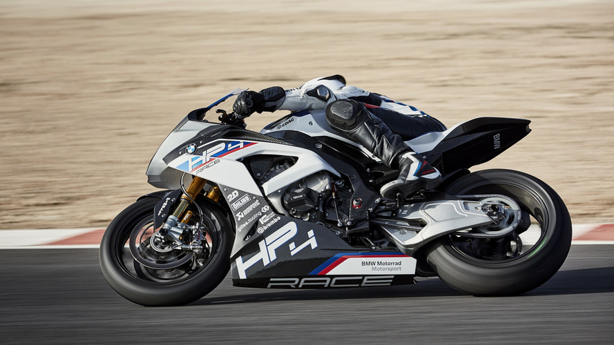 BMW HP4 Race Is A Limited Edition Carbon Fiber Fest [89 Photos]