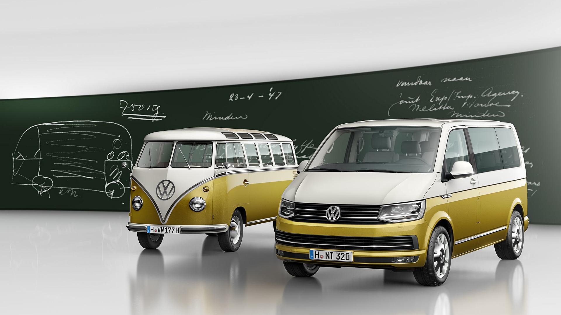 e32ebb7737375b VW Multivan special edition celebrates Bulli s 70th anniversary