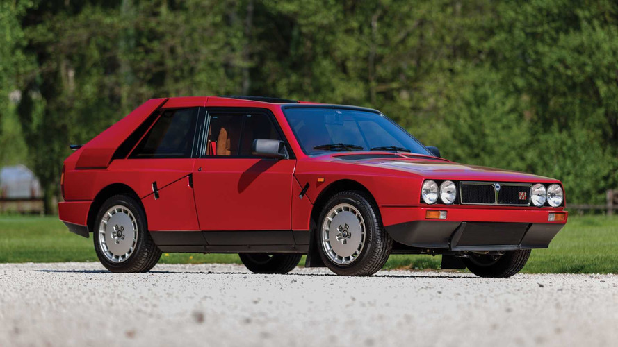 Rare Lancia Delta S4 'Stradale' Heads To Auction