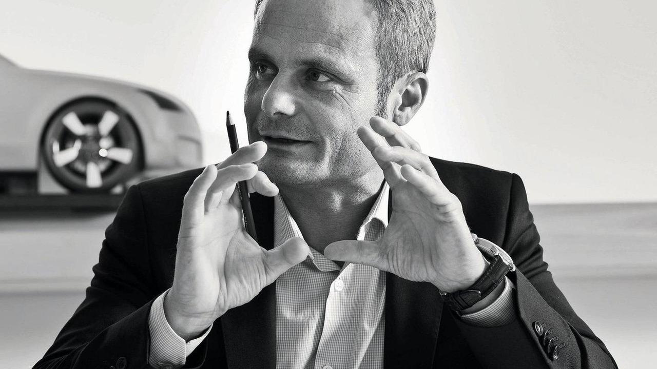 Wolfgang Egger, Head of Audi Group Design, Audi TT teaser 23.12.2011