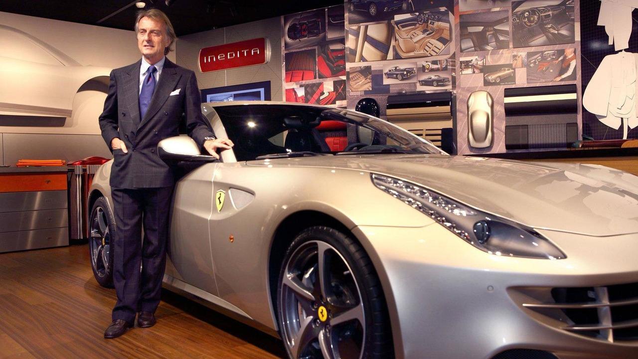 Ferrari Chairman Luca di Montezemolo with a Tailor-Made program FF 07.12.2011