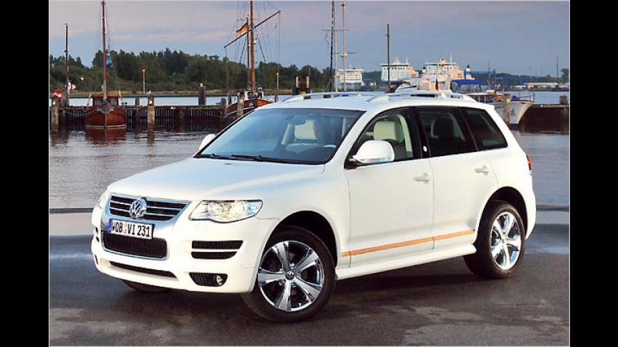 """Unter vollen Segeln: VW zeigt den Touareg ,North Sails"""""""