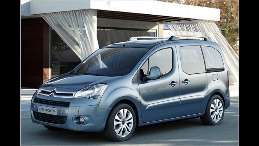 Citroën Berlingo und Peugeot Partner (2008): Erste Bilder