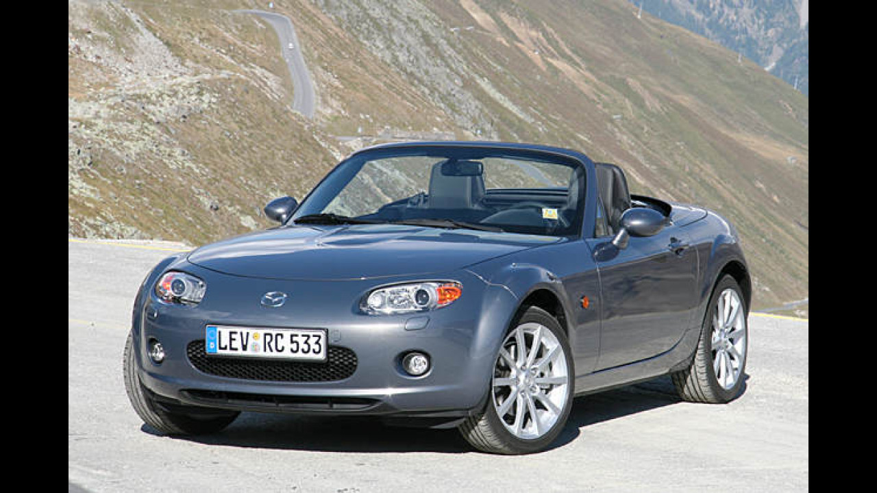 Alternative: Mazda MX-5 Roadster-Coupé 2.0
