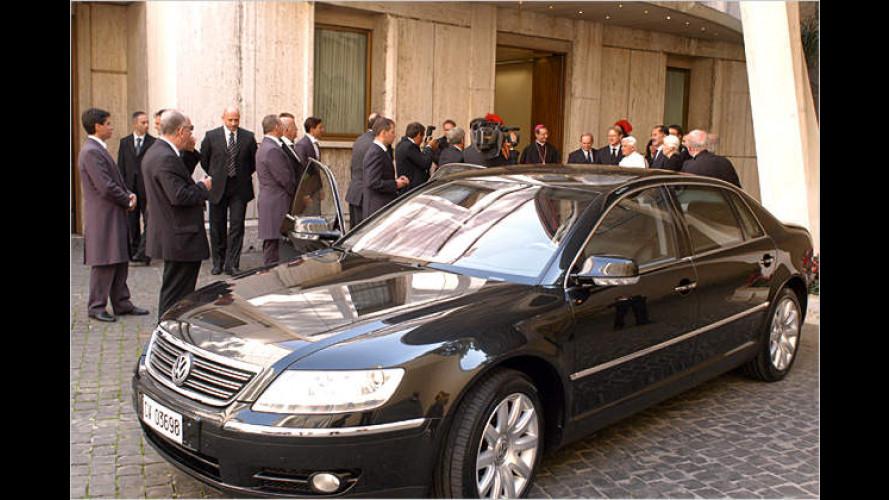 Pontifex-Phaeton: Neuer Luxus-Schlitten für Benedikt XVI.