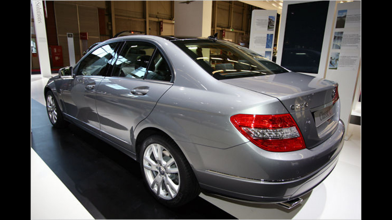 Mercedes C 250CDI Blue Efficiency
