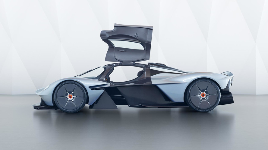 Aston Martin Valkyrie's Lap Times Could Rival F1 Cars