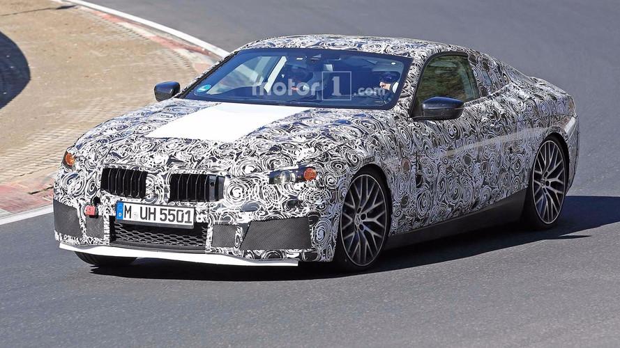 BMW M8 kémfotók a Nürburgringről