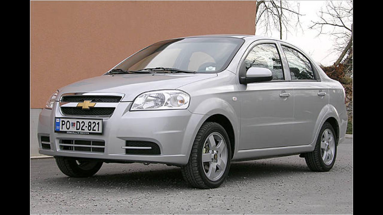 Chevrolet Aveo 1.2 LPG LS (Autogas)