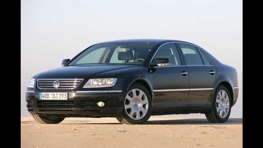 Groß-Passat oder Luxus-Primus? VW Phaeton 3.0 TDI im Test