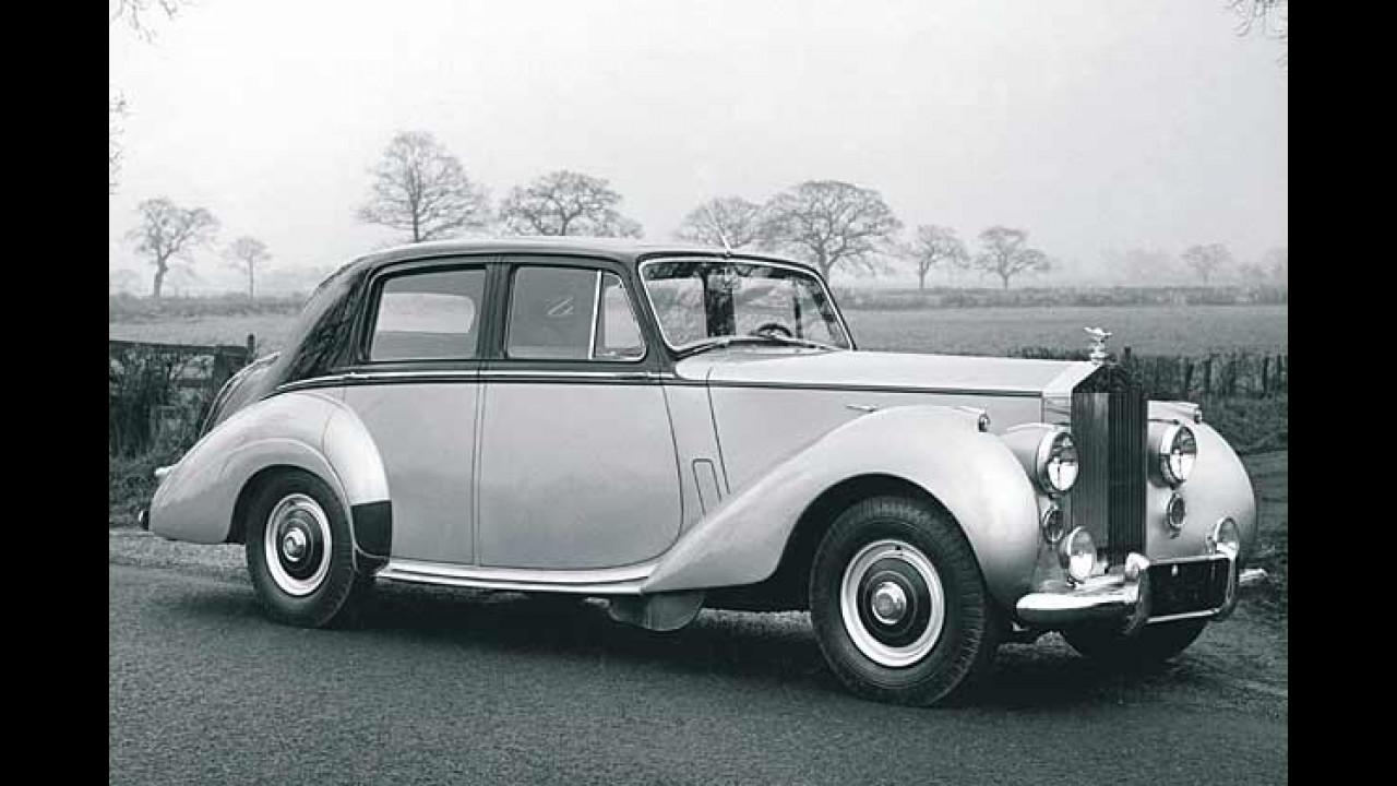 Rolls-Royce Silver Dawn, 1949-1955