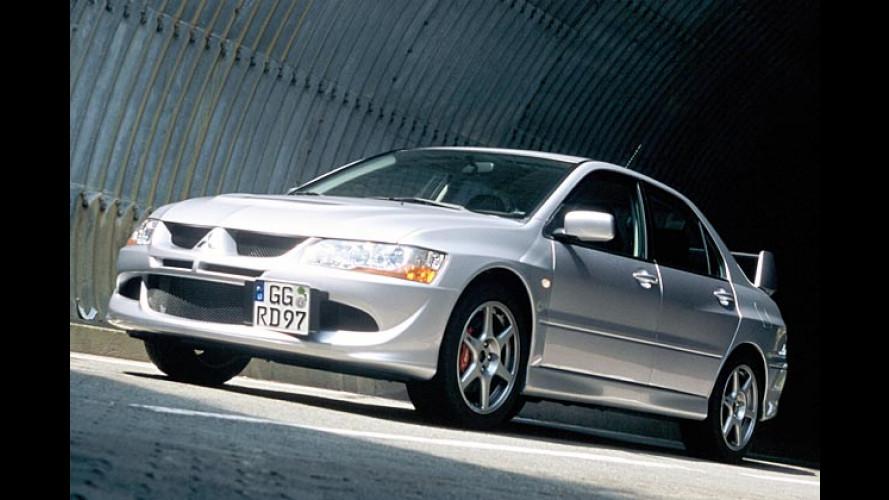 Mitsubishi: Power-Lancer Evolution VIII ab März im Handel
