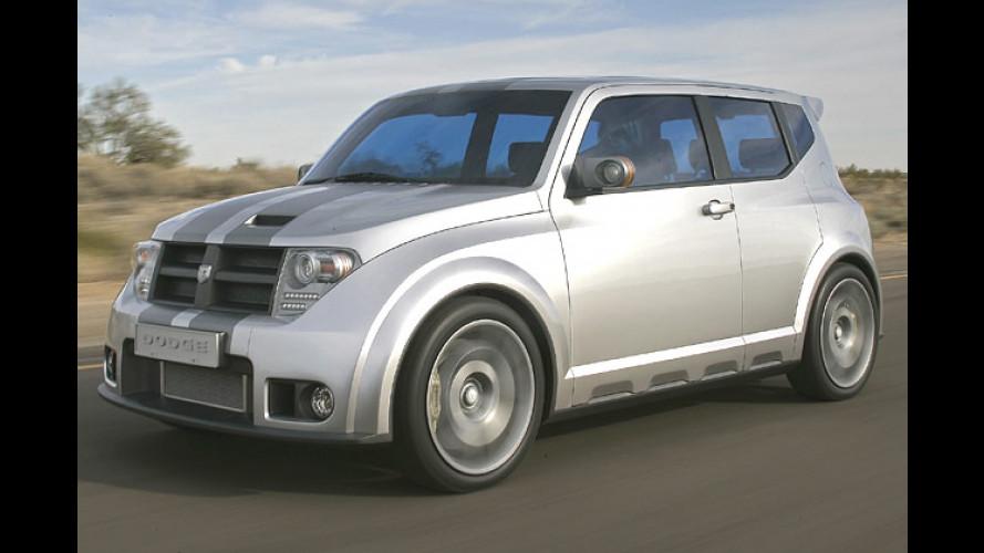 Angriffslustiger Kompakt-Kubus: Dodge-Studie Hornet