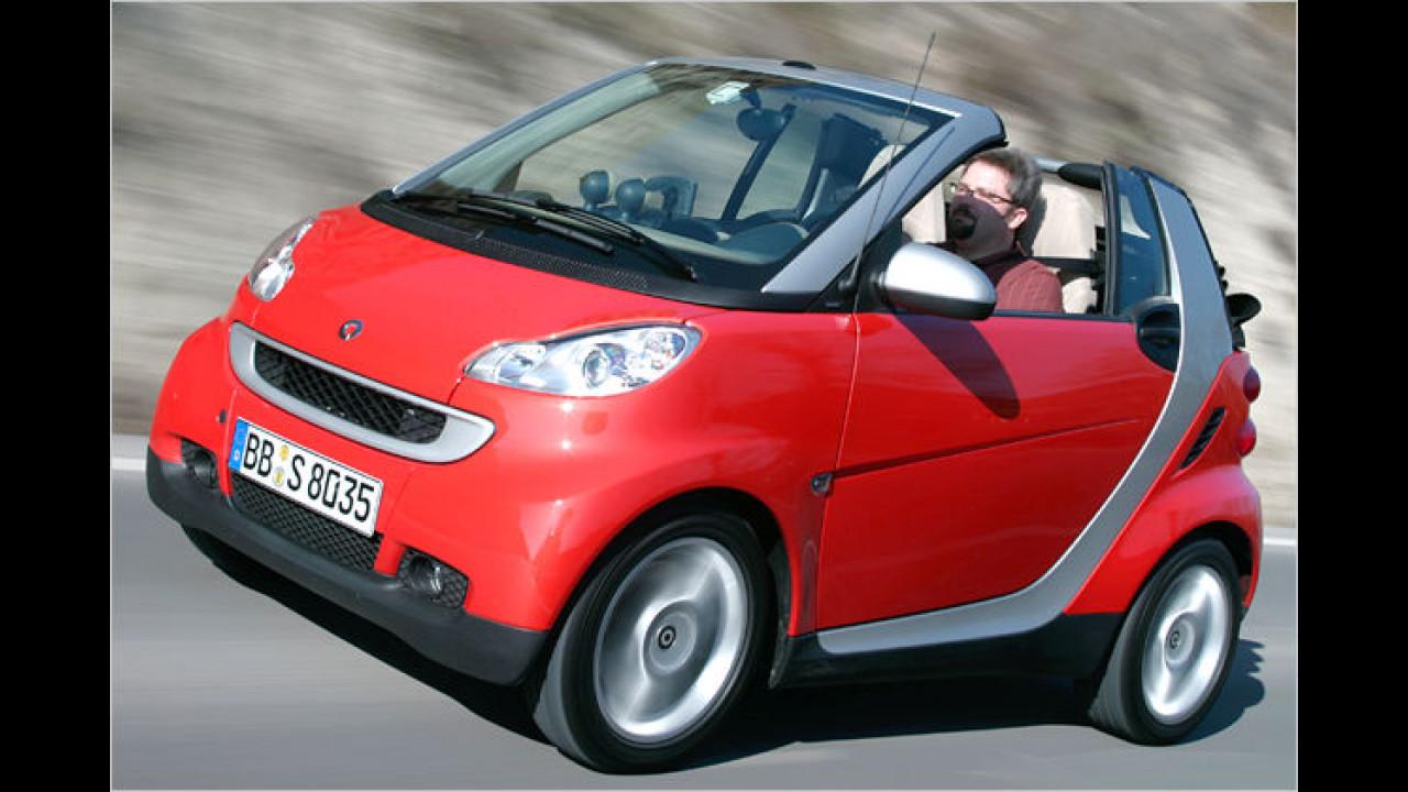smart fortwo cabrio 0.8 cdi pure RPF