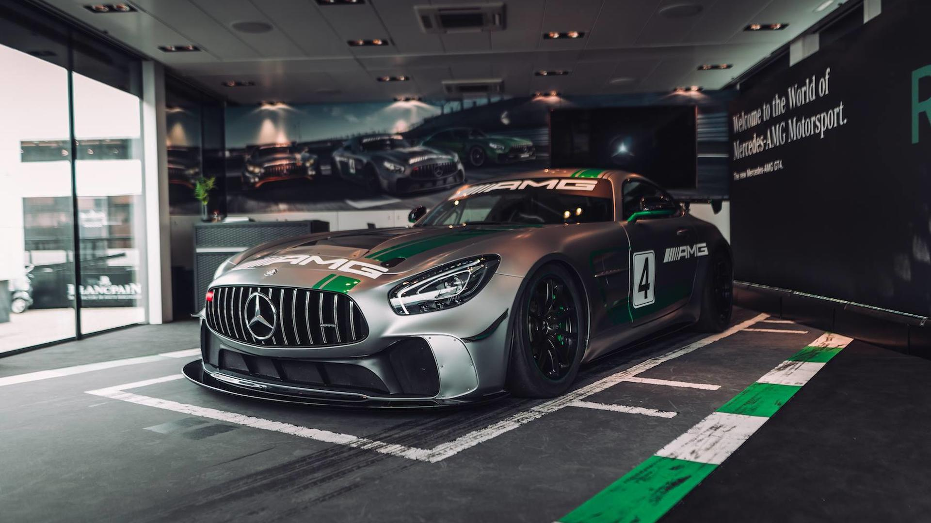 Mercedes Amg Gt4 >> Mercedes Amg Gt4 Is One Mean Racing Machine