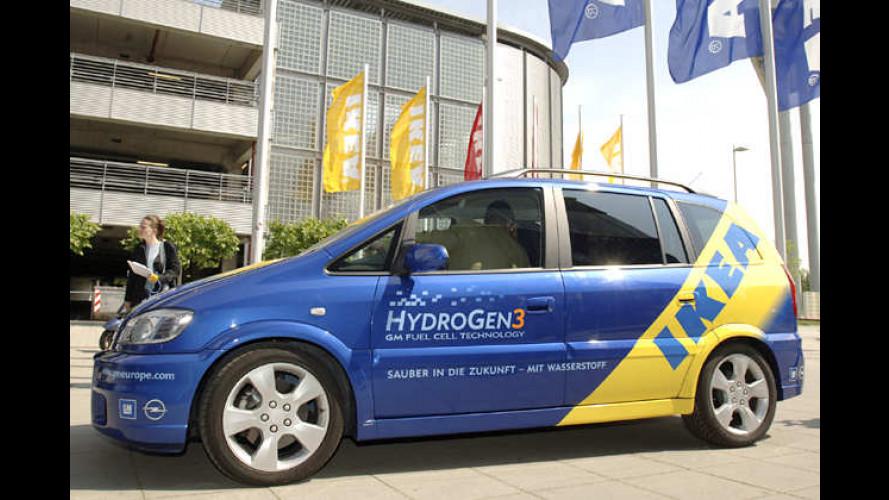 Opel mit Ikea: Brennstoffzellentechnik im Kundeneinsatz