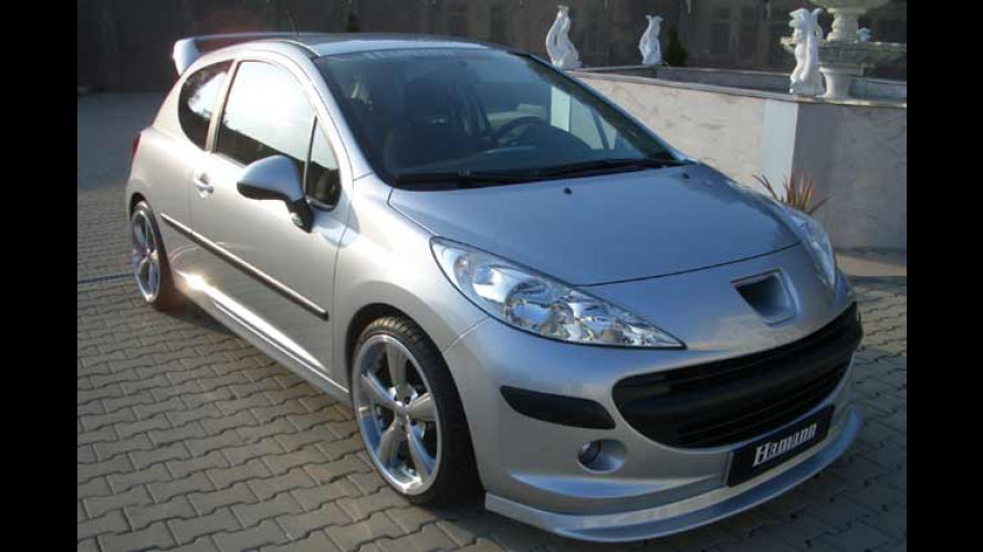 "Der ""Turbo-Shadow"": Race-Look für den Peugeot 207"