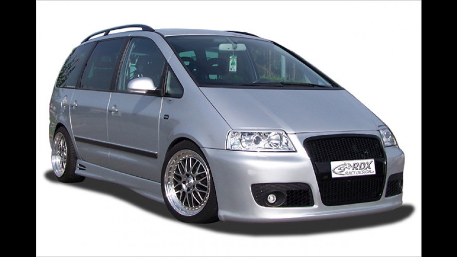 RDX-Racedesign: VW Sharan im neuen Look