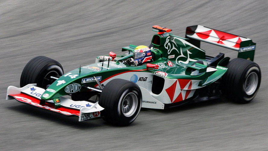 Jaguar Formula One Car Destroyed In Revival Race Series