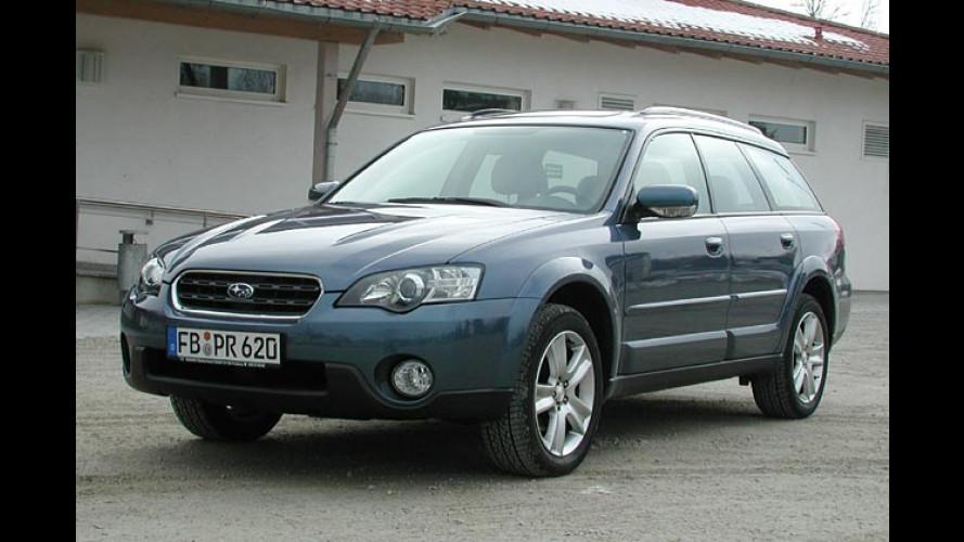 Subaru Outback H6 3.0: Im Outback heizt der Boxer