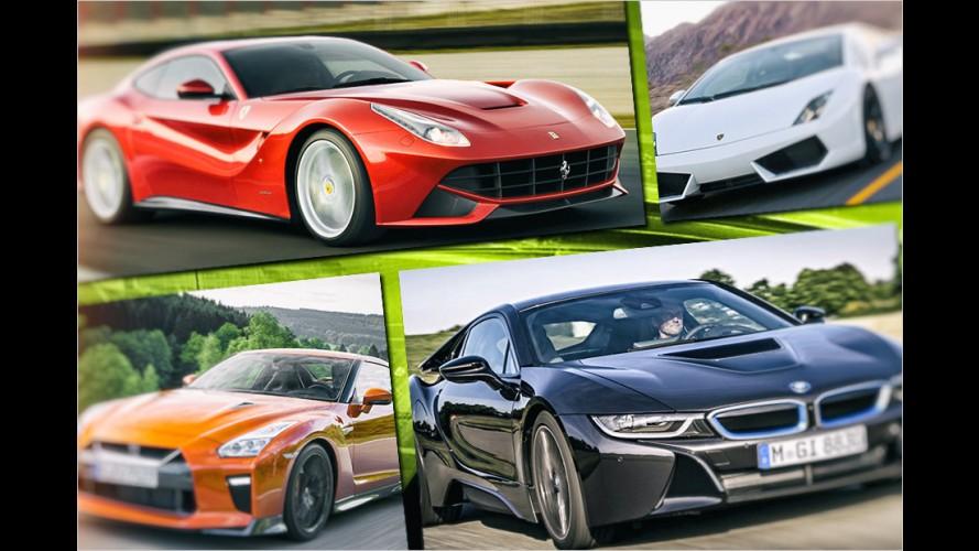 Die beliebtesten Gebraucht-Sportwagen