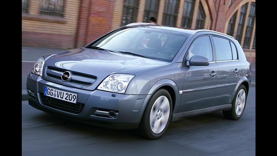 Opel: Neue Turbodiesel-Motoren für Vectra und Signum
