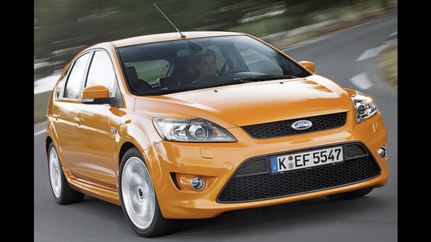 Facegelifteter Ford Focus ST: Optische Offensive in Orange