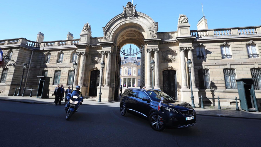 14 juillet - Sortie présidentielle pour la Peugeot 5008