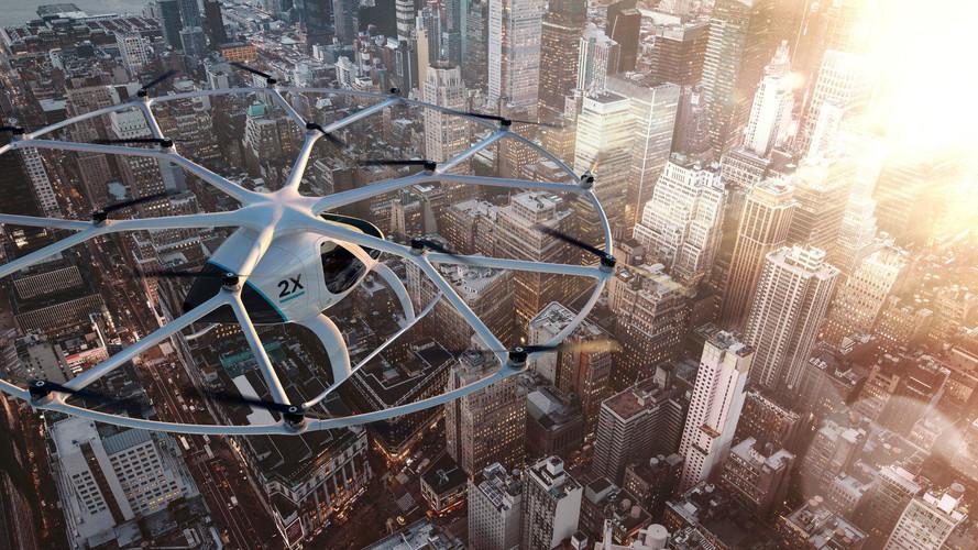 Volocopter entwickelt elektrisch angetriebenes Flugtaxi