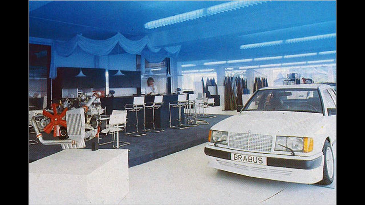 1986: Der neue Showroom