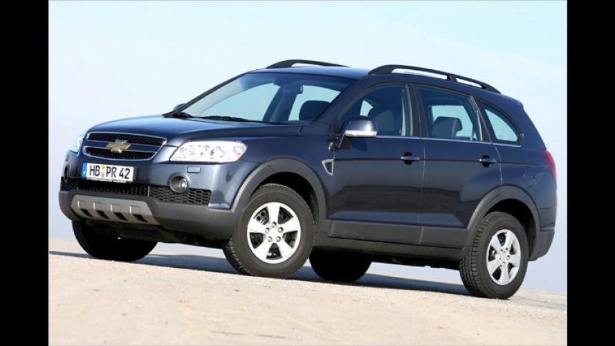 Sommer-Angebot: Chevrolet Captiva ab 19.990 Euro