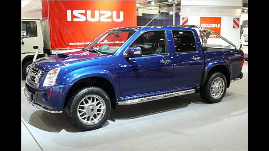 Isuzus Rückkehr: Pick-up D-Max in drei Karosserie-Varianten