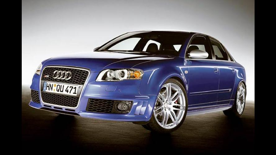 Neuer Audi RS 4: Sport-Limousine mit Traumwagen-Werten