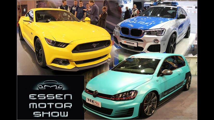 Essen Motor Show 2014: Scharf gemachte Serien-Autos