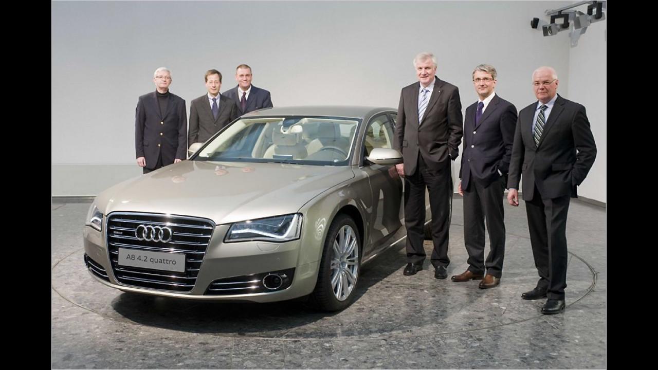Horst Seehofer: Audi A8 4.2 quattro