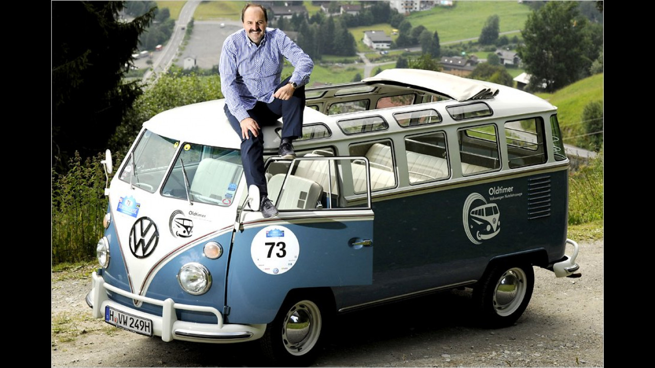 Johann Lafer: VW T1-Samba-Bus