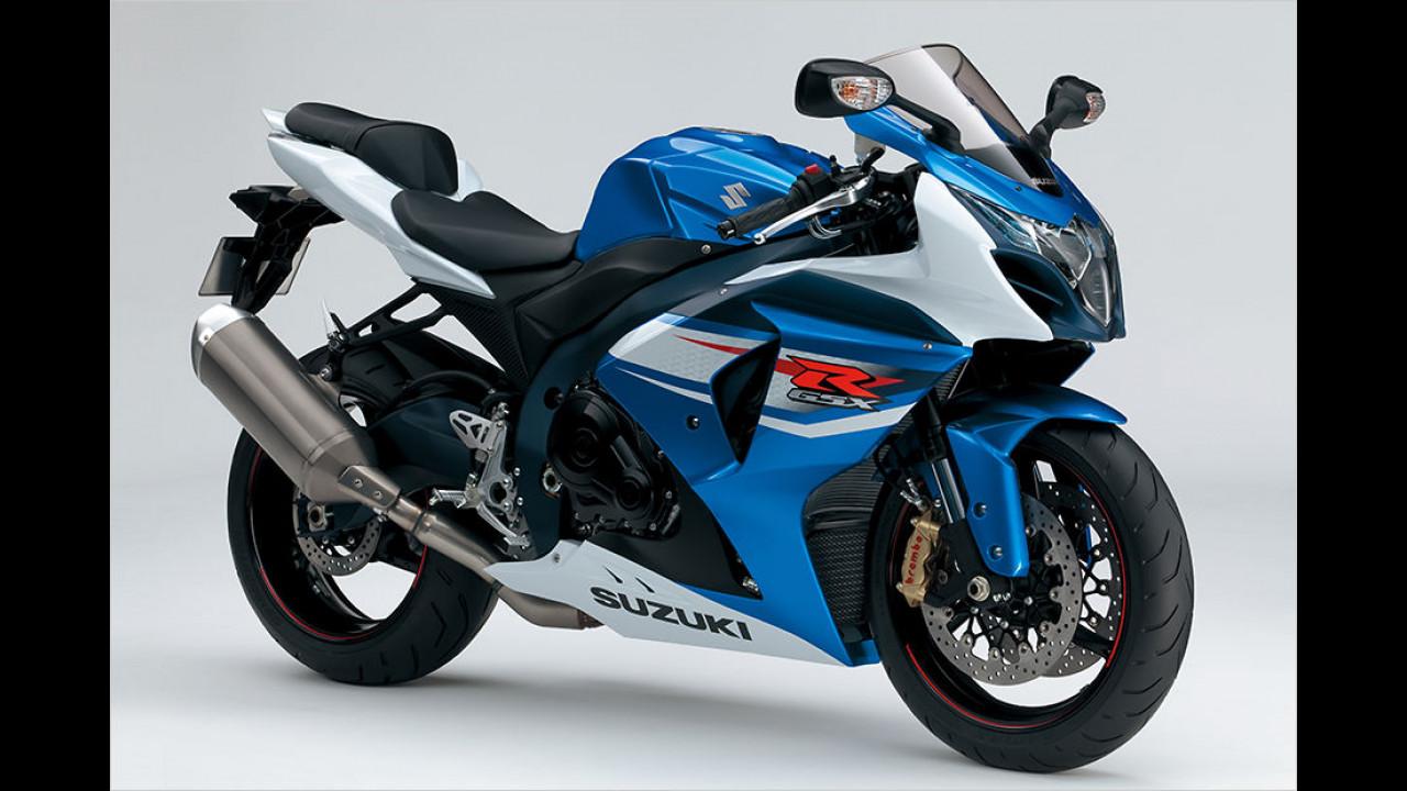 Platz 7: Suzuki GSX-R 1000, 5.630 Euro