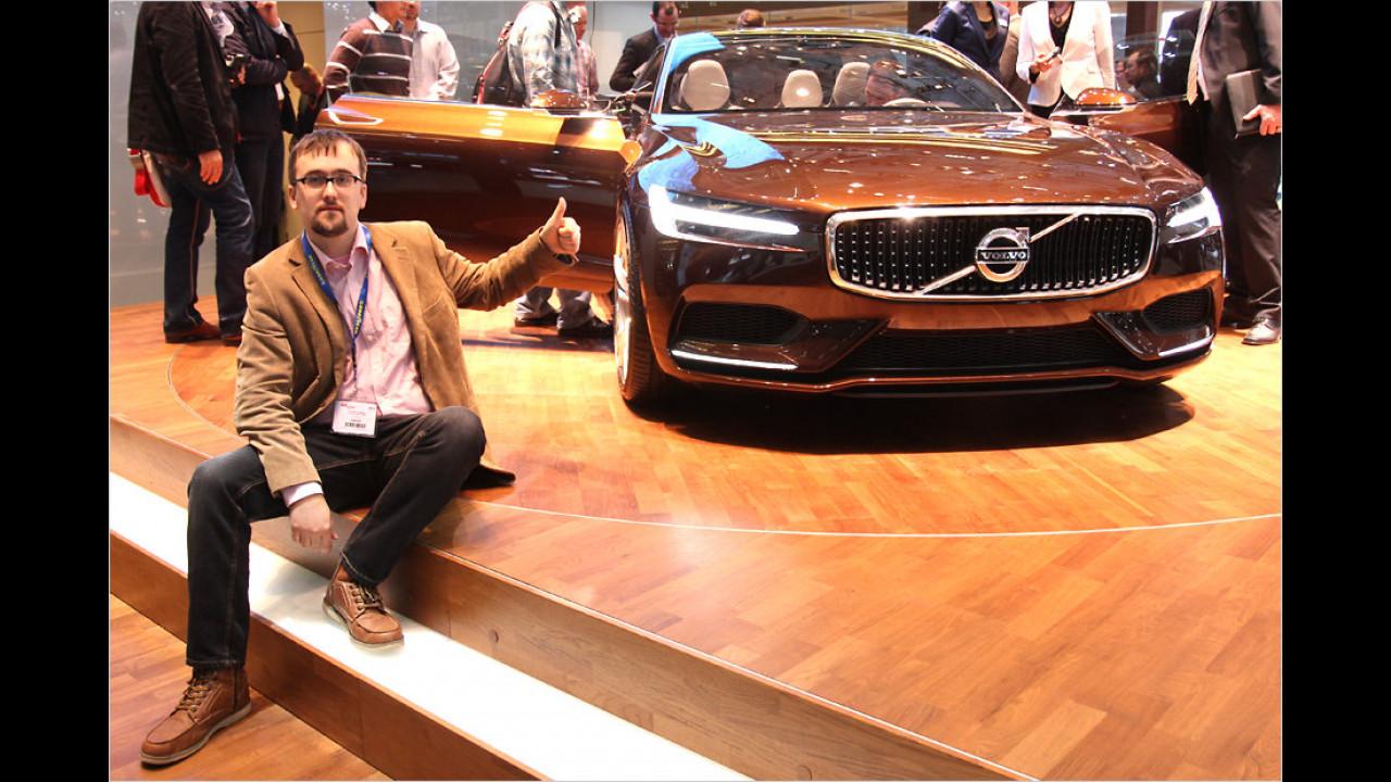 Top: Volvo Concept Estate