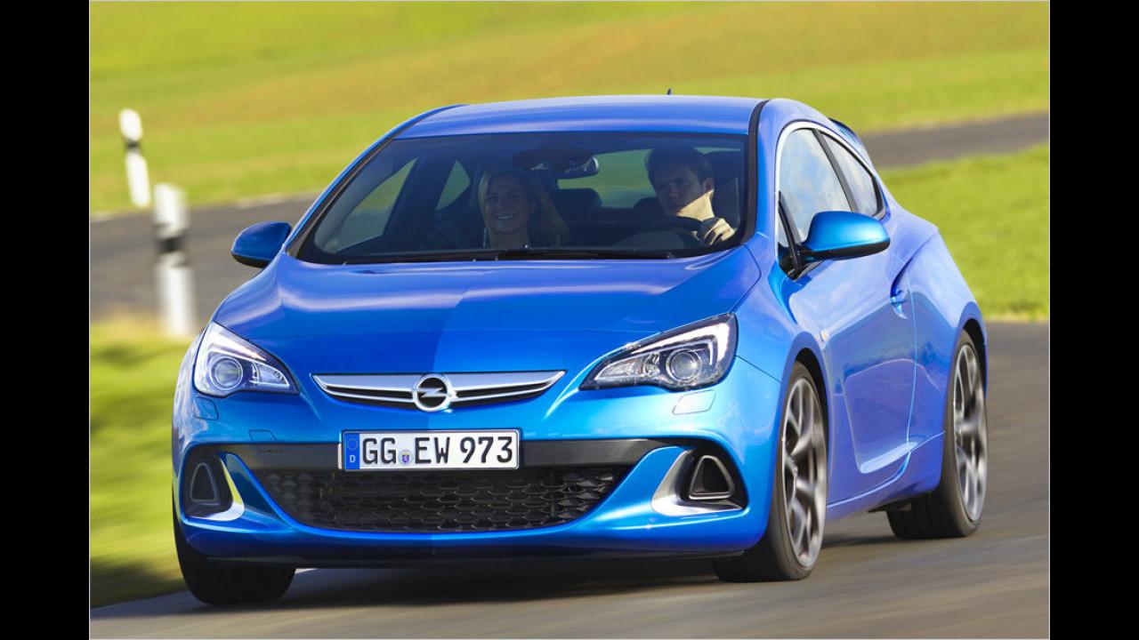 Opel Astra OPC: 6,0 Sekunden