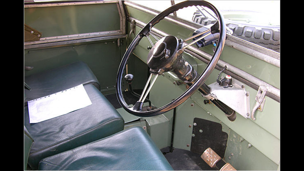Land Rover 1948 Series I Pre-Production Nr. 1