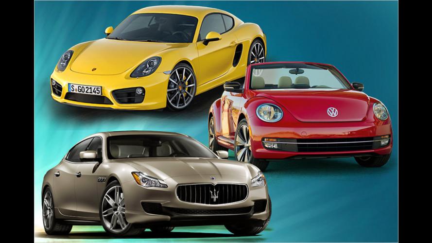 Autojahr 2013: Die wichtigsten Neuheiten