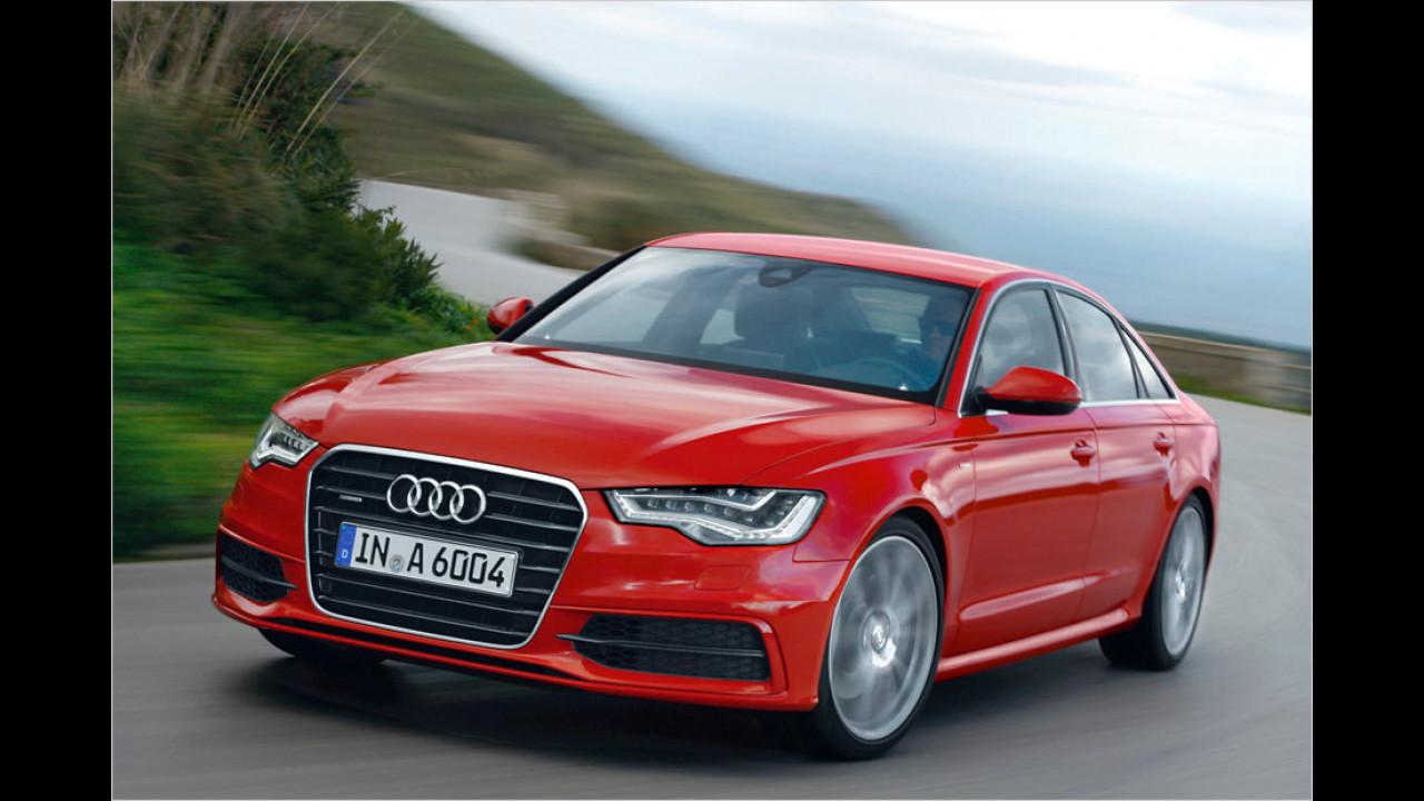 Top 2 bei Frauen: Audi A6 (81,0 Punkte)