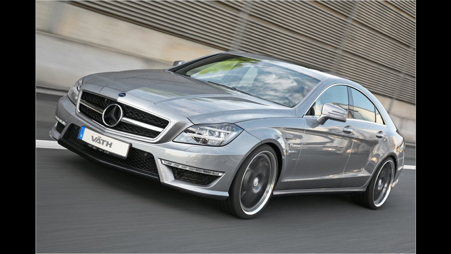 Mercedes CLS 63 AMG von Väth: 660 PS stark und 325 km/h schnell